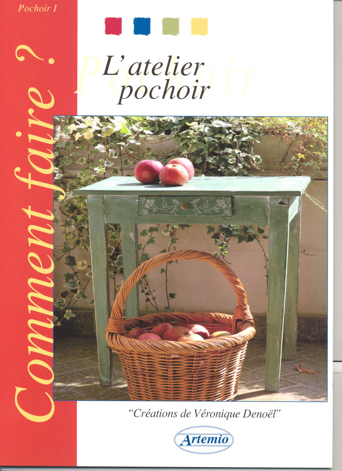 Livre Atelier Pochoir